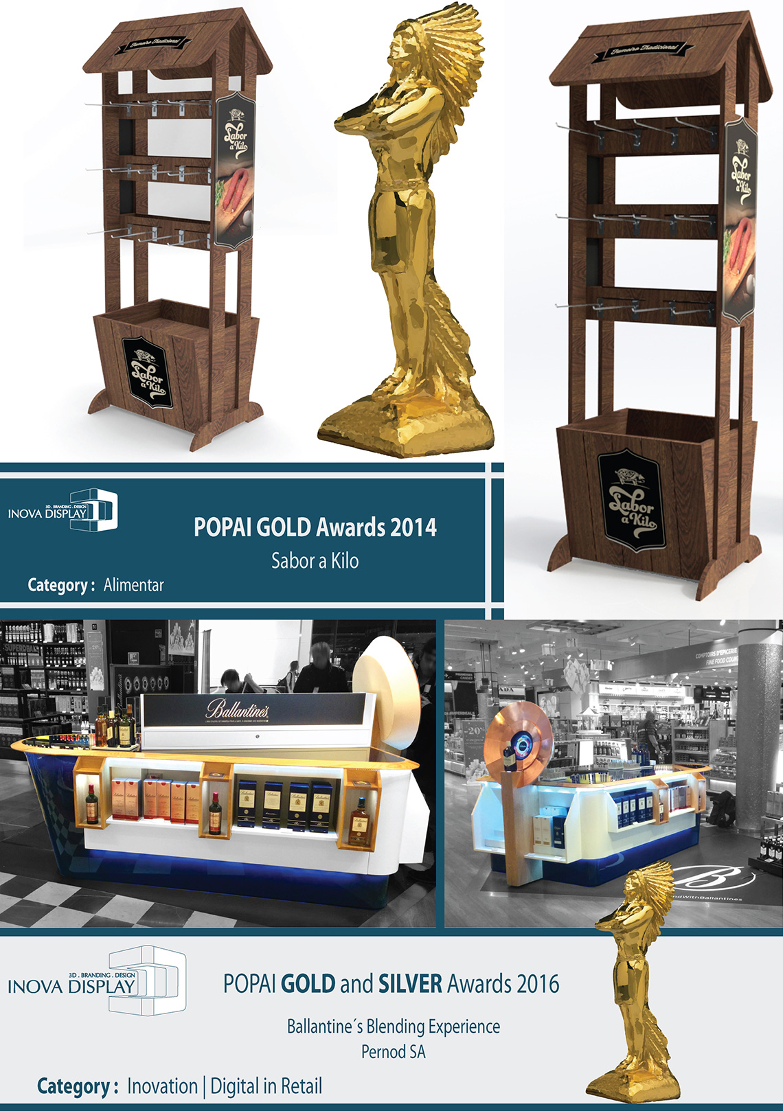 POPAI GOLD Awards 2014  - Sabor a Kilo